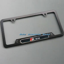 New Aluminium License Plate Frame For Audi #2SBL