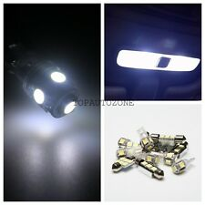 9 x Pure White SMD Led Lights Interior Package Kit 2005-2010 For Chevy Cobalt