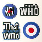THE WHO - Quality Embroidered Iron-On / Sew-On Patch Collection - Your Choice!