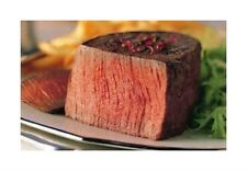 2 USDA CHOICE Filet Mignon Steaks 5oz Certified Hereford/Beef/Steak/Tenderloin