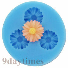 Mini Daisy Silicone Mold Mould for Polymer Clay Crafts Fimo Flower 12mm A073