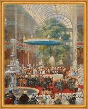 Opening of the Great Exhibition, 1 May Eugene Louis Lami Ausstellung B A1 01721