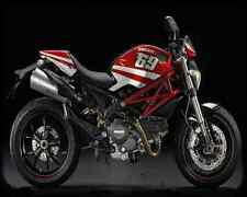 Ducati Monster 796 Replica Motogp 2 A4 Photo Print Motorbike Vintage Aged