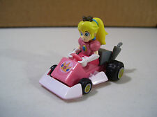 NINTENDO YUJIN MARIO KART PRINCESS PEACH PULL BACK ACTION PLASTIC CAR TOMY 2005