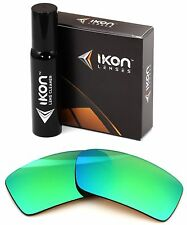 Polarized IKON Iridium Replacement Lenses For Oakley Gascan Emerald Green Mirror