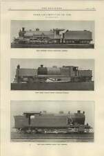1921 Sudan Railways South African Articulated Indian Peninsular Tank Locomotives