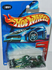 2004 First Editions - CROOZE LeMELT - green/graph. - 1:64 Hot Wheels 51/100