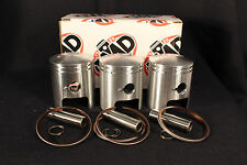 SUZUKI GT380 TRIPLE PISTON KITS 55.5mm (3) NEW PARTS +1.5mm