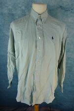 RALPH LAUREN Chemise Homme Taille 16 / L -Yarmouth -  Manches longues