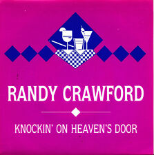 RANDY CRAWFORD-KNOCKIN ON HEAVENS DOOR SINGLE VINILO 1989 PROMOCIONAL