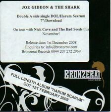 (45D) Joe Gideon & The Shark, DOL / Harum Scarum- DJ CD