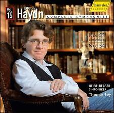 Haydn: Complete Symphonies: Symphonies No 53 and No 54 Vol 15, New Music