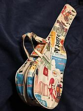Vintage Soprano Ukulele Zippered Case. Very Cool.