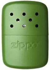 Zippo Refillable Deluxe 12 Hour Moss Green Hand Warmer with Pouch 40468 NEW RARE