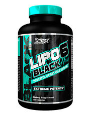 Nutrex LIPO 6 BLACK HERS Extreme Female Fat Burner Weight Loss - 120 Capsules