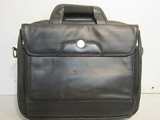 "Dell Laptop Carrying Case, Genuine Leather (4) Pockets, 13"" x 11"" x 2"" Pock"