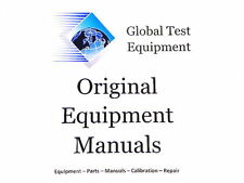 Agilent/HP/Keysight 08753-90123 8753A/B   8702A On-Site System Service Manual