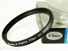 Kenko 49mm UV Filtro Digitale lente protezione per filettatura del filtro 49mm-UK STOCK