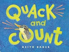 Quack and Count by Keith Baker (2003, Board Book)