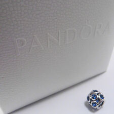 Authentic Genuine Pandora Silver Blue Whimsical Lights Charm - 791153NSB
