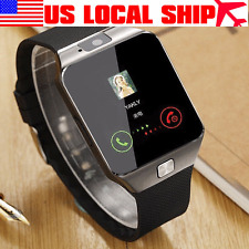 DZ09 Bluetooth Smart Watch GSM SIM For iPhone For Samsung Android Phone Mate US