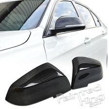 --BMW F30 F31 3-SERIES SEDAN TOURING CARBON FIBER MIRROR COVER 2012+
