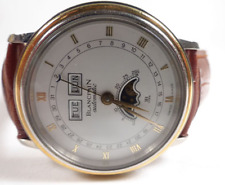 BLANCPAIN VILLERET triple data fasi lunari AUTOMATICO UOMO SWISS WATCH