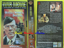 film VHS cartonata QUELLA SPORCA DOZZINA war movie 2004 SIGILLATA (F37) no dvd