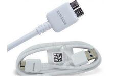 Original Ladekabel für Samsung Note 3 - S5 ET-DQ11 USB 3.0 Datenkabel weiß