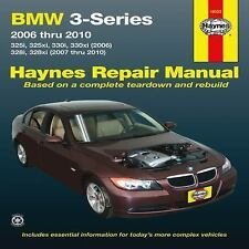 2006-2010 Haynes BMW 3-Series (325i/xi, 330i/xi, & 328i/ix) Repair Manual