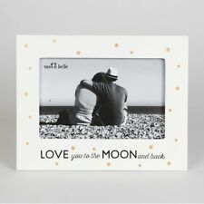 Love you to the Moon and Back Photo Frame - Golden Stars frame 15cm x 19cm