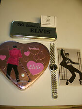 Elvis Presley ~Hound Dog Watch +Collectibles *