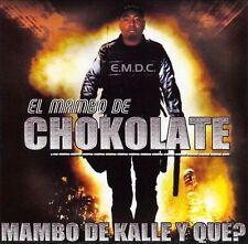 """El mambo De Chokolate """"Mambo de Kalle y Que?"""" cd SEALED + 1 BONUS TRACK"""