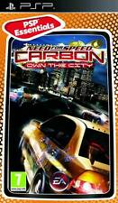NEED FOR SPEED CARBON OWN THE CITY PSP NEW SEALED UK PAL Essentials