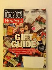 TIME OUT NEW YORK MAGAZINE, November 21-27 2013, Gift Guide, Vice Is Nice