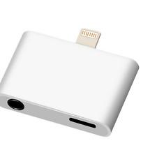 Lightning Adapter Splitter 3.5mm Headphone Jack Converter for iPhone 7 /7 Plus