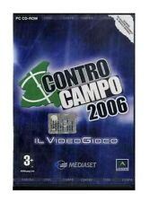 PC CD ROM CONTRO CAMPO 2006 il video gioco