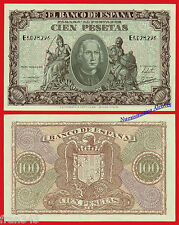 ESPAÑA SPAIN 100 Pesetas 1940 CRISTOBAL COLON Pick 118 EBC+ / XF