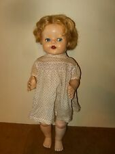 Ancienne poupée marchante / vintage walking doll - PEDIGREE England 54cm 50/60s