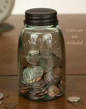 ~ Mason Jar COIN BANK with Slotted Lid ~