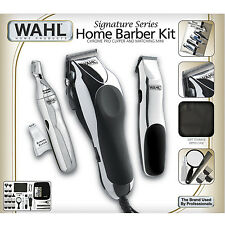 Wahl Professional Hair Cut Trimmer 30 Piece Kit Clippers Haircut Barber Set Pro