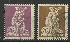 GERMANY / BAVARIA 1920 20 / 40pf USED