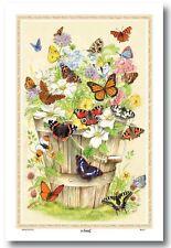 Butterflies Tea Towel - butterfly