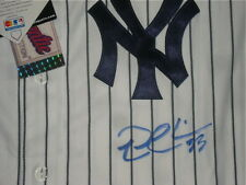 NICK SWISHER AUTOGRAPHED JERSEY (YANKEES) W/ PROOF!