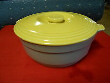 Magnificent Collectable HALL Ovenware Bowl for GENERAL ELECTRIC..Yellow and Grey