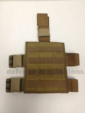 Specter Gear MOLLE Tactical Thigh Rig Drop Leg Panel - Medium Format Coyote