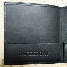 Rare Daniel Roth Card Holder Wallet Warranty Card Certificate Portadocumenti NEW