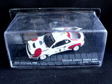 Rally Model Car IXO 1:43 TOYOTA CELICA TURBO 4WD C. Sainz L. Moya 1992 [MZ3]