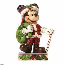 Disney Traditions Holiday Cheer for All Mickey Figurine 25340