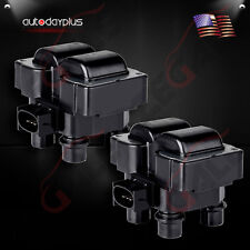 SET OF 2 NEW PREMIUM IGNITION COIL IGNITION COIL PACK FOR FORD MAZDA MERCU FD487